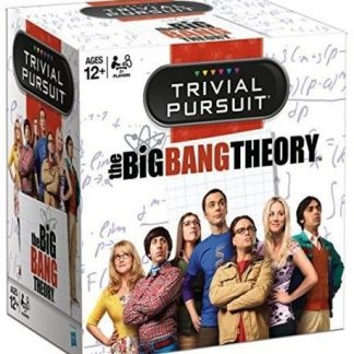 THE BIG BANG THEORY TRIVIAL PURSUITS