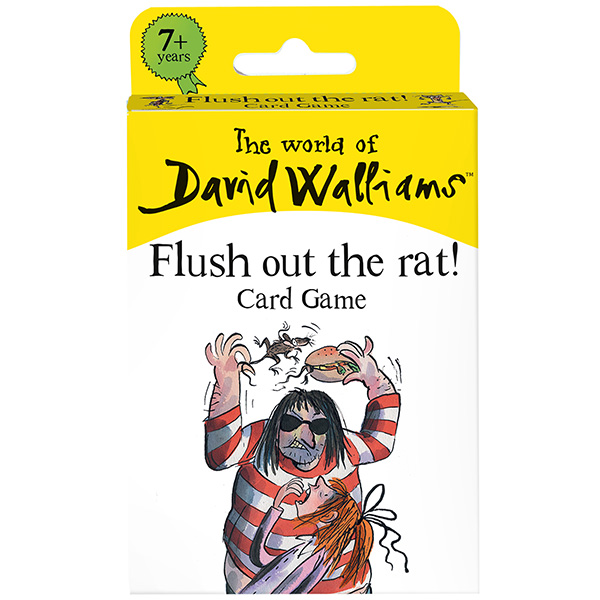 David Walliams' Flush Out the Rat Card Game