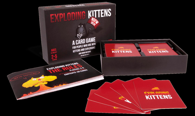Exploding Kittens NSFW