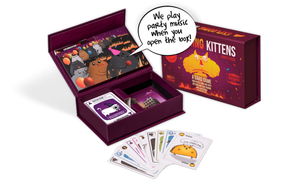 Exploding Kittens Party Pack 2
