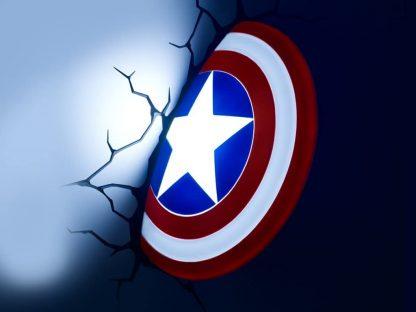 CAPTAIN AMERICA SHIELD 3D DECO LIGHT