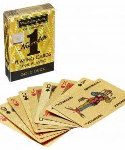 Waddingtons No. 1 Gold Playing Cards