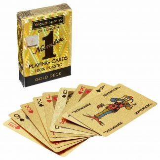 Waddingtons No. 1 Gold Playing Cards