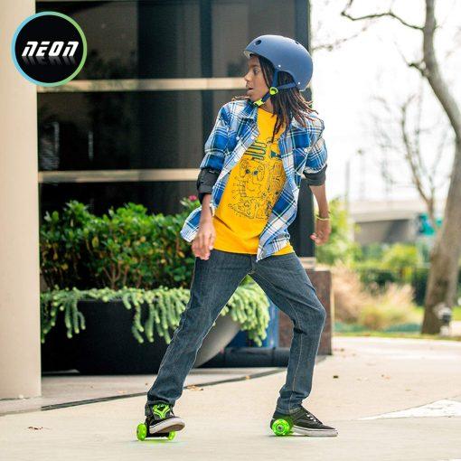 Neon Street Roller Boy
