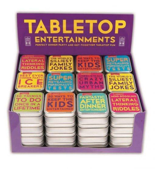 tabletop entertainments