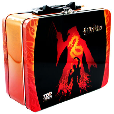witches and wizards top trumps tin