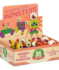 wooden flexi monsters