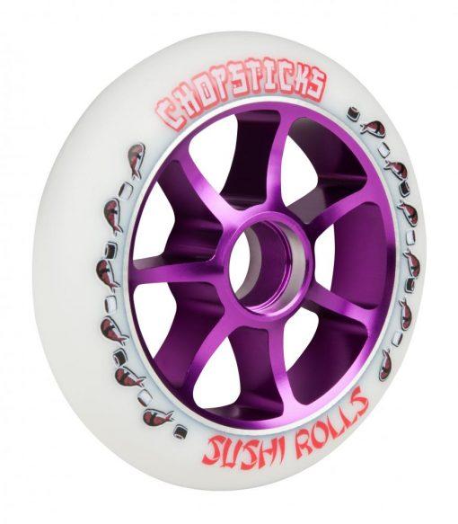 chopsticks sushi roll wheel