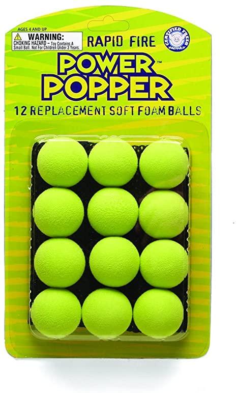 popper replacement foam balls