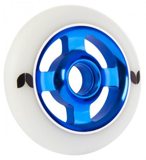 BLAZER PRO 4 SPOKE ALUMINIUM 100MM STORMER SCOOTER WHEEL blue