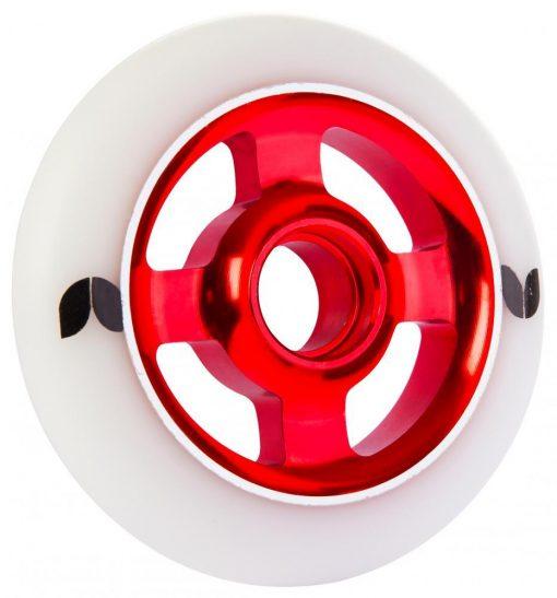 BLAZER PRO 4 SPOKE ALUMINIUM 100MM STORMER SCOOTER WHEEL red