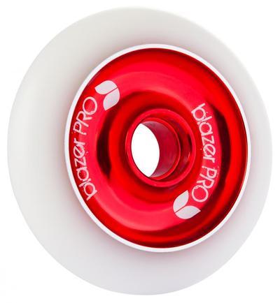 Blazer Pro Scooter Wheel Aluminium Core White Red