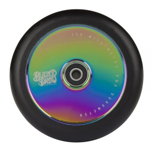Blazer Pro Scooter Wheel Hollow 120mm Neo Chrome