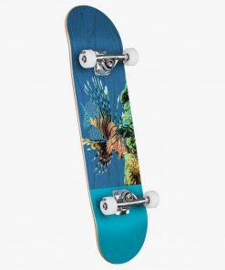 Mini Logo Poison Lion Fish Complete Skateboard