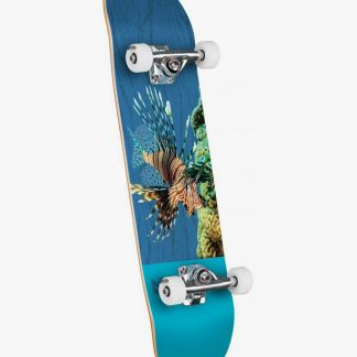 Mini Logo Poison Lion Fish Complete Skateboard