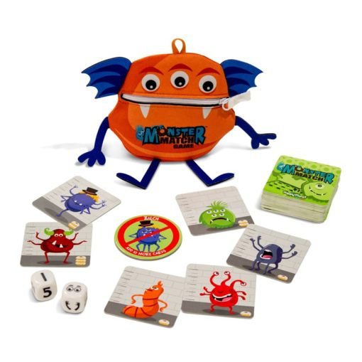 Monster-match-components-fast-play-board-game