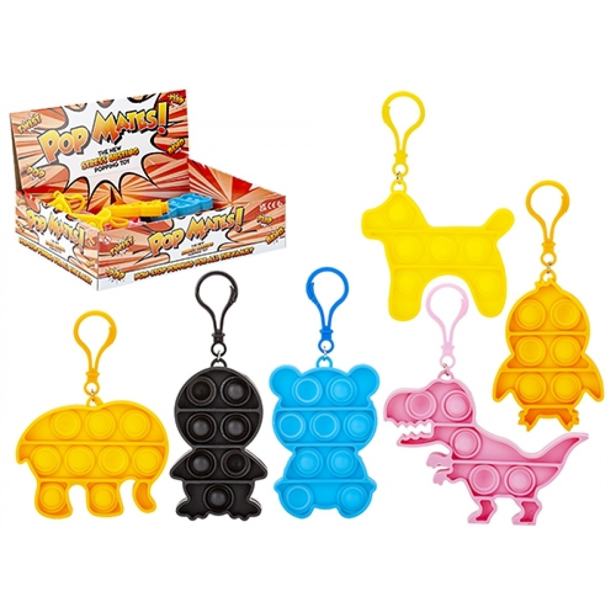 pop mate fidget toy animals