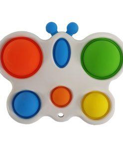6 Poppit Butterfly Sensory Toy.