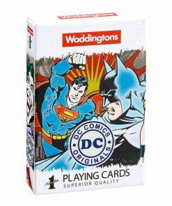 DC Comics Waddingtons No.1 Playing Cards