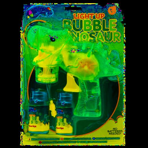 Dino Light Up Bubble Gun