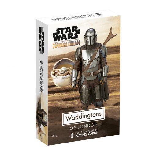 Star Wars The Mandalorian Waddingtons No.1 Playing Cards
