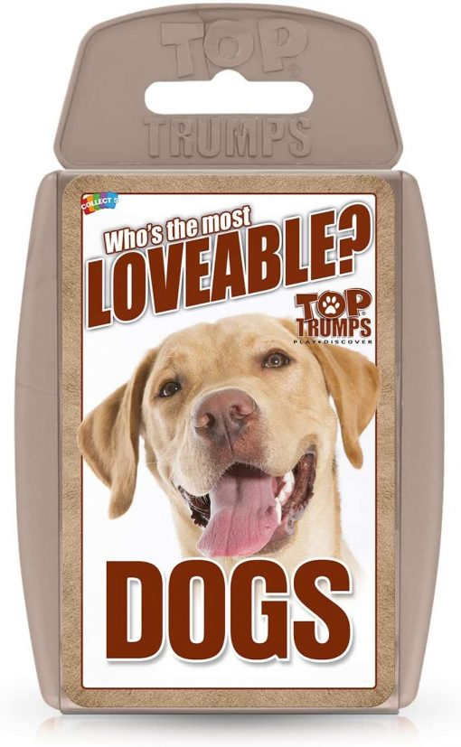 TOP TRUMPS CLASSICS DOGS CARD GAME