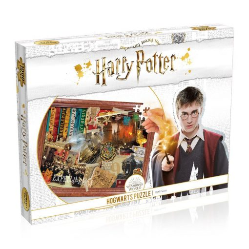 harry potter hogwarts jigsaw 1000pc