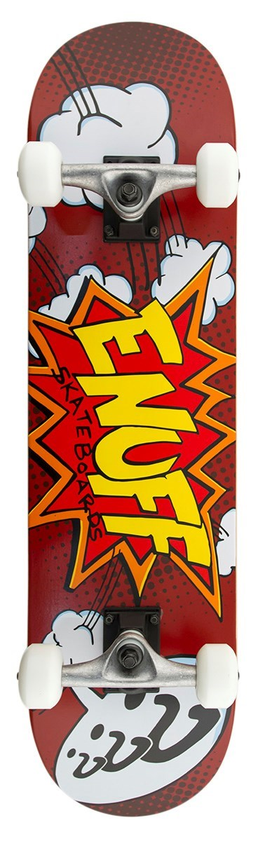 ENU2200 Enuff Skateboards POW Red Main