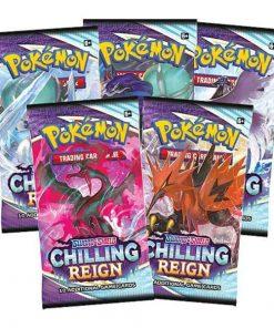 Pokemon Sword & Shield 6: Chilling Reign Booster Pack