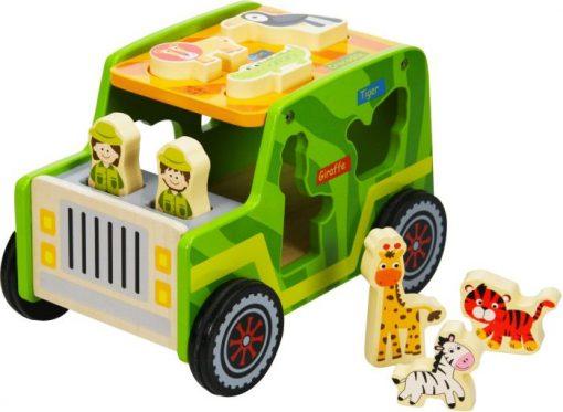 Wooden Safari Jeep Set