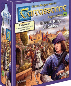 Count King and Robber Carcassonne Expansion